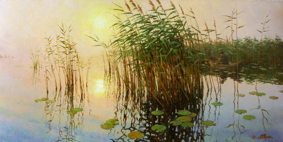 Вдали от суеты: деревенская живопись Дмитрия Лёвина 15