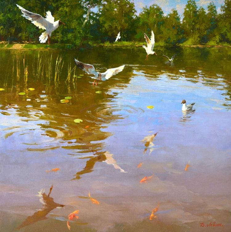 Вдали от суеты: деревенская живопись Дмитрия Лёвина 19