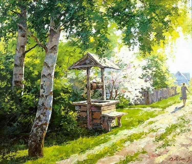 Вдали от суеты: деревенская живопись Дмитрия Лёвина 20