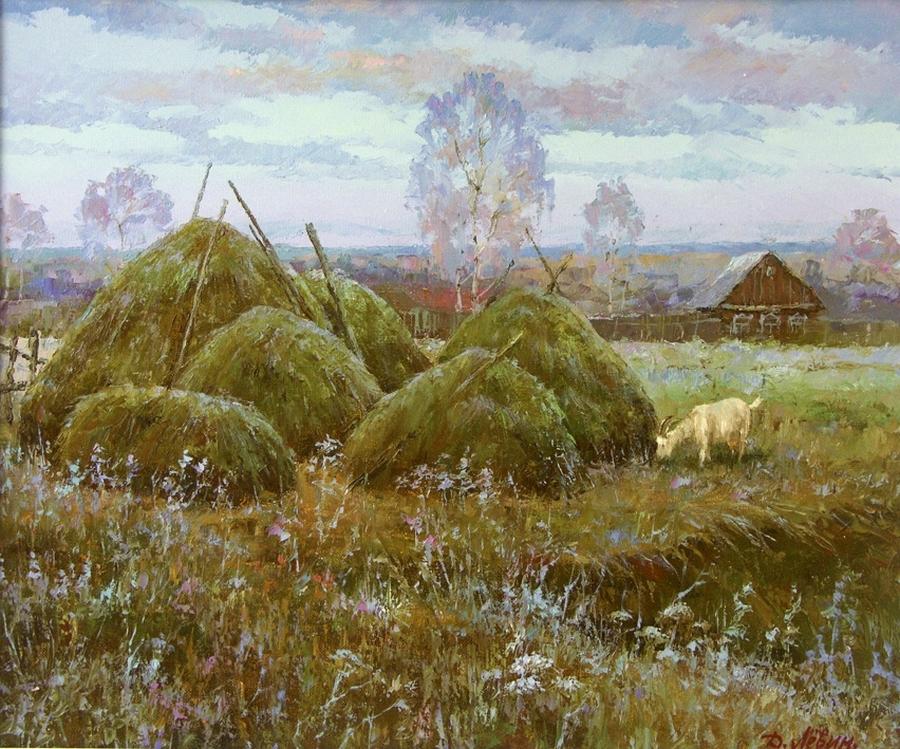 Вдали от суеты: деревенская живопись Дмитрия Лёвина 33