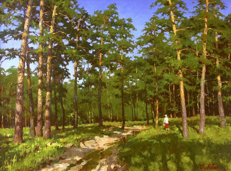 Вдали от суеты: деревенская живопись Дмитрия Лёвина 34