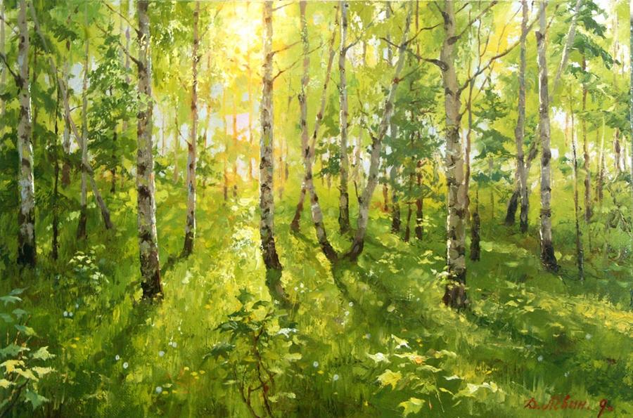 Вдали от суеты: деревенская живопись Дмитрия Лёвина 35