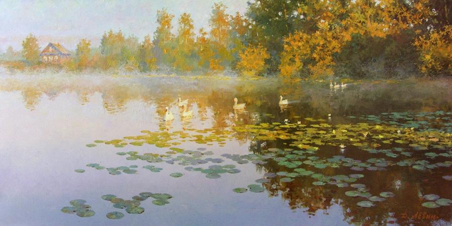 Вдали от суеты: деревенская живопись Дмитрия Лёвина 5