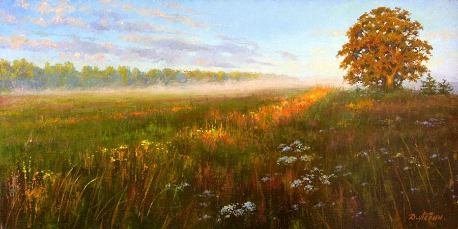 Вдали от суеты: деревенская живопись Дмитрия Лёвина 8