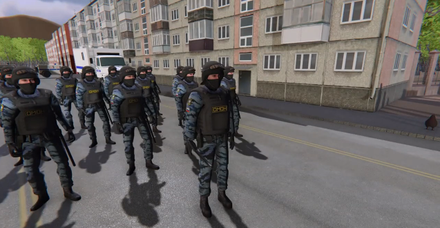 "Russian Police Simulator - a News Game ""Steam"""
