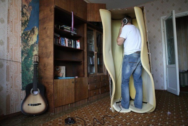 When You Really Want to Have a Recording Studio...