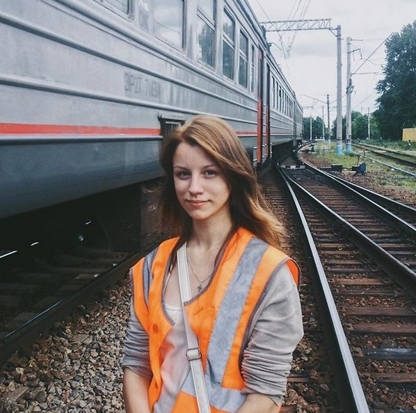 Girls Who Work For Russian Railways