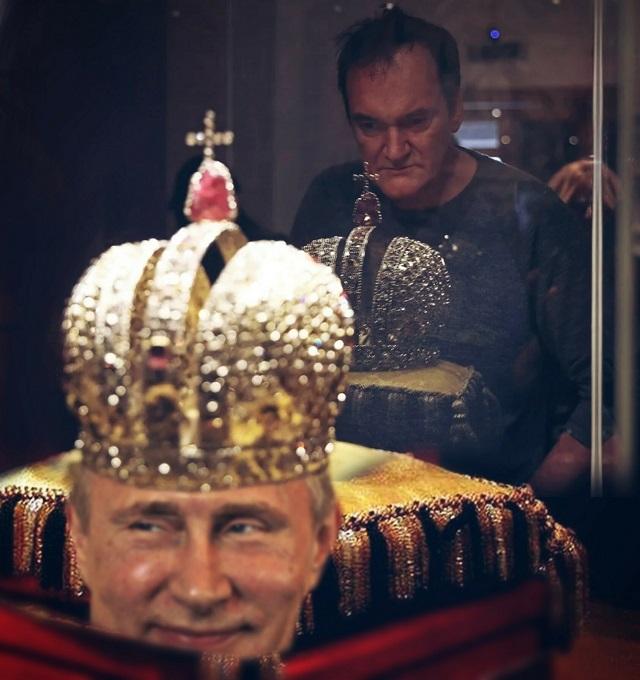 Мемы и шутки, посвященные визиту Квентина Тарантино в Москву (19 фото)