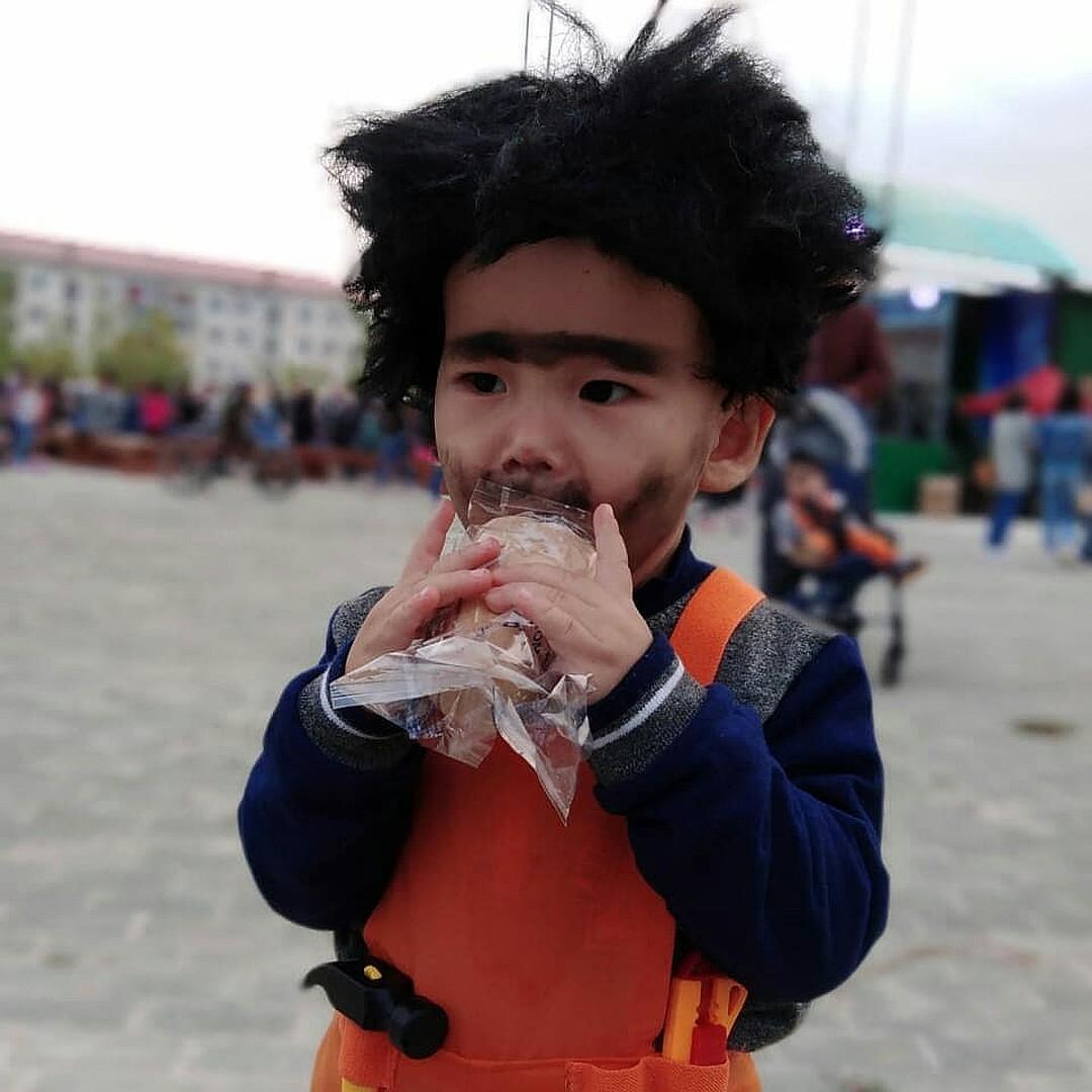The Winners of the Children's Cosplay Show In Yakutia