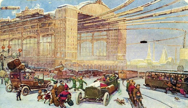 Moscow As Was Seen By Artists of Tsarist Russia