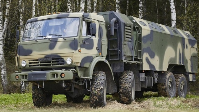 New Mobile Bath For Russian Soldiers