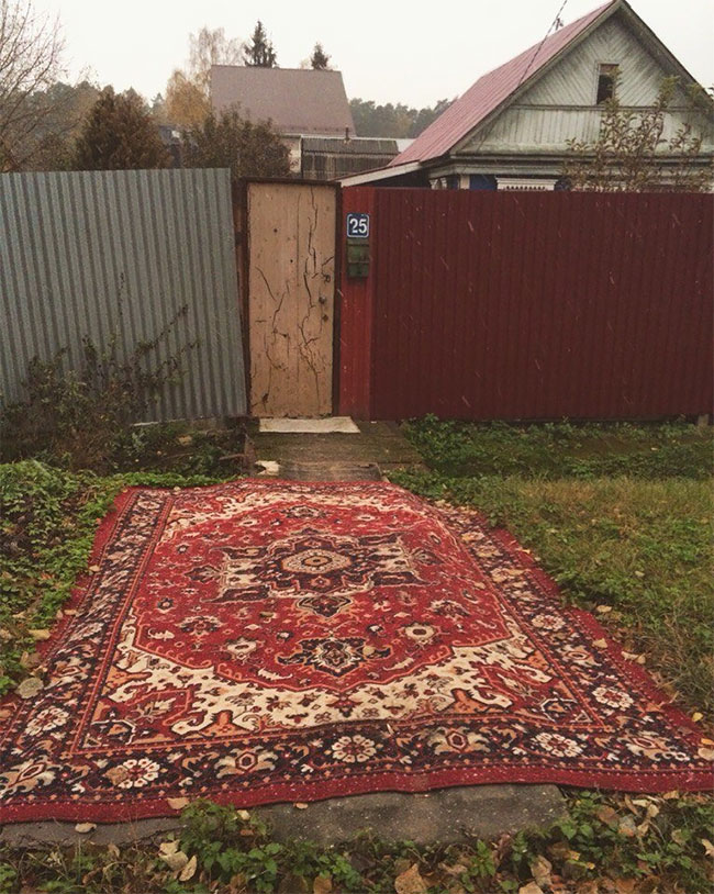What Happens To a Carpet When Its Owner Throws It Away?