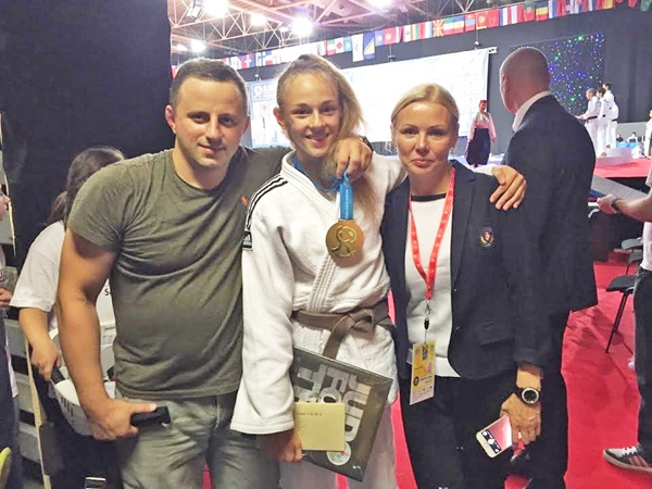 Charming Dasha Who Became the World Champion In Judo