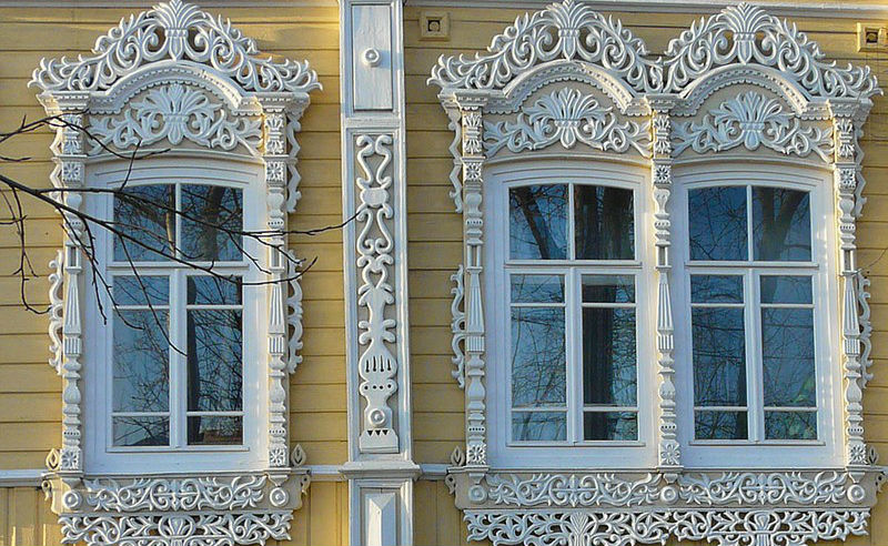 Amazingly Wonderful Russian Window Surrounds