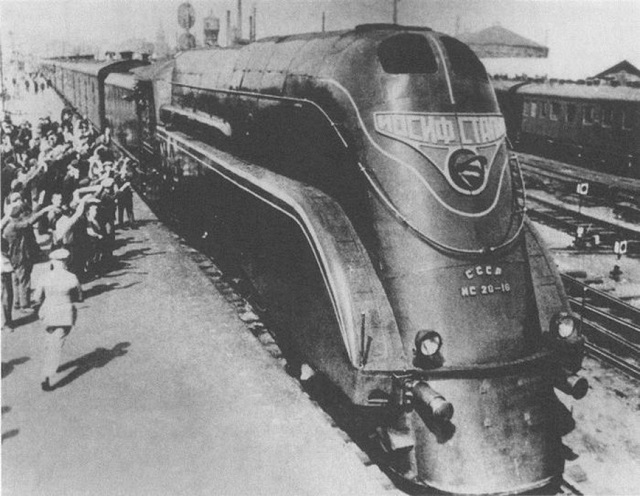 "The Trike Inspired by ""Joseph Stalin"" Locomotive"