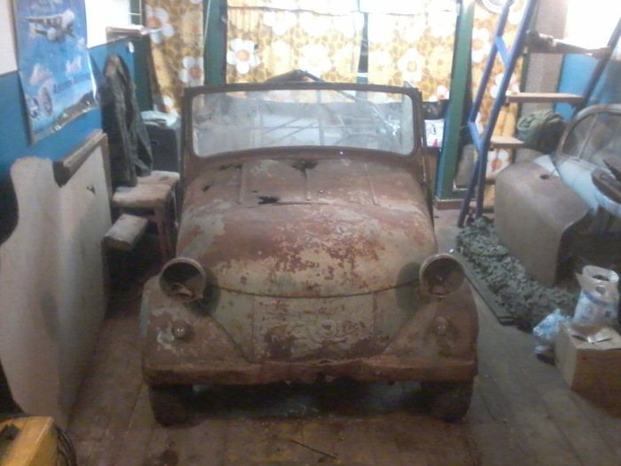 New Life For a Soviet Microcar