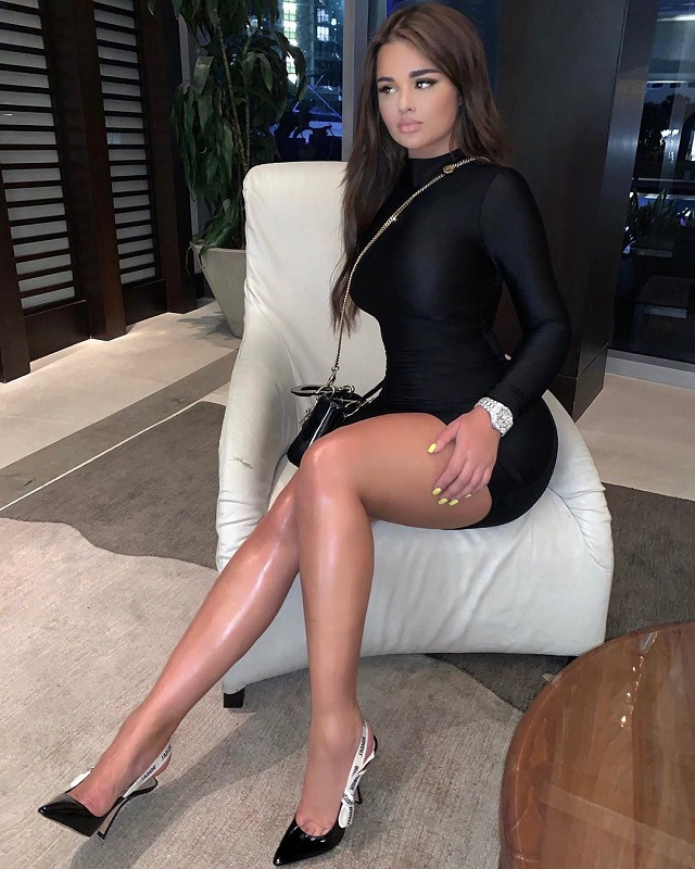 Анастасия Квитко - главный Instagram-конкурент Ким Кардашьян (11 фото + видео)