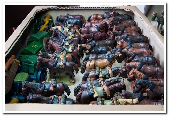 Солдатики из пластилина