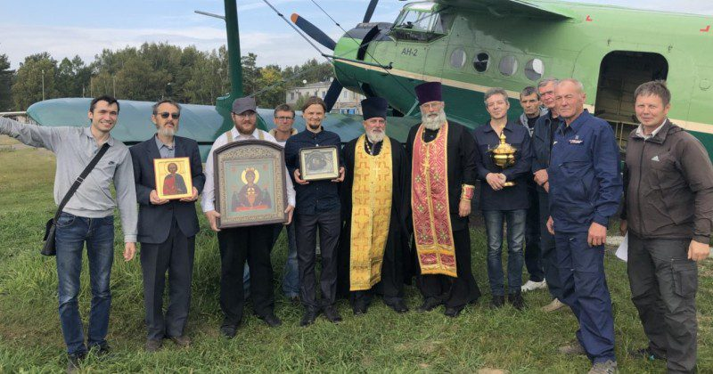 Fighting Alcoholism And Fornication With Holy Water Poured From Helicopter