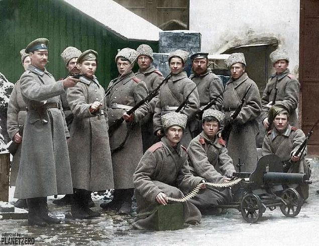 Russian History In Colors: Photos of the Early XX Century