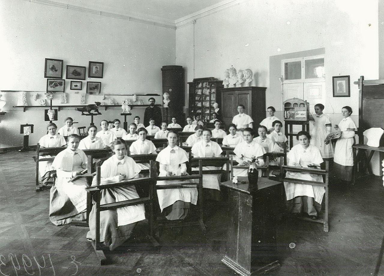 Russian School Uniform Through the History