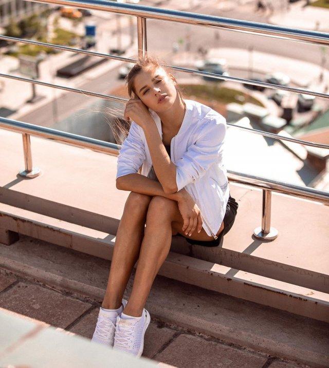 Александра Солдатова - девушка, которую считают одной из самых красивых спортсменок в мире (17 фото + 2 видео)