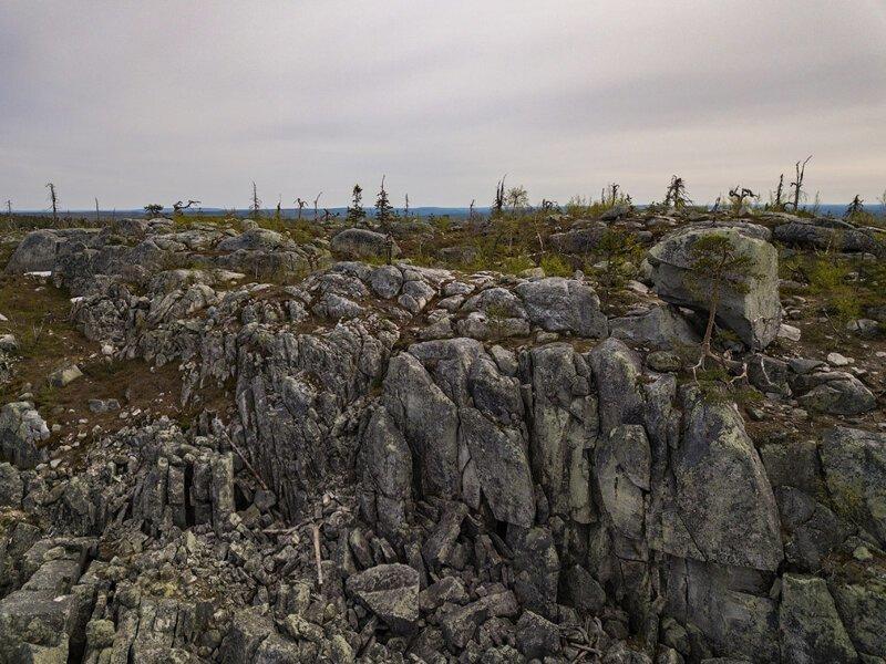 Mysterious Vottovaara Mountain