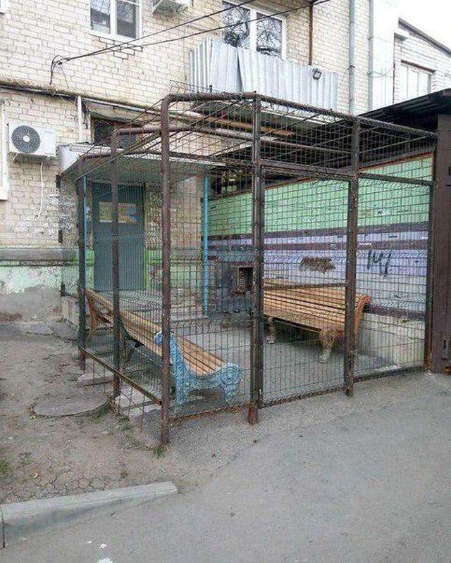 """На Ставрополье нашли подъезд """"строго режима"""""""