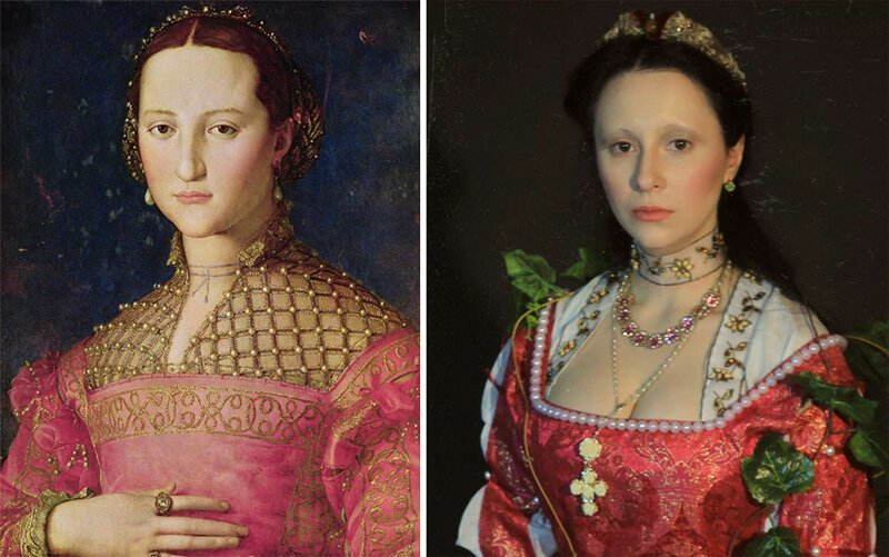 Russians Recreate Famous Paintings And Have Much Fun
