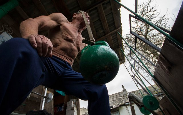 70 Years-Old Bodybuilder From Belarus