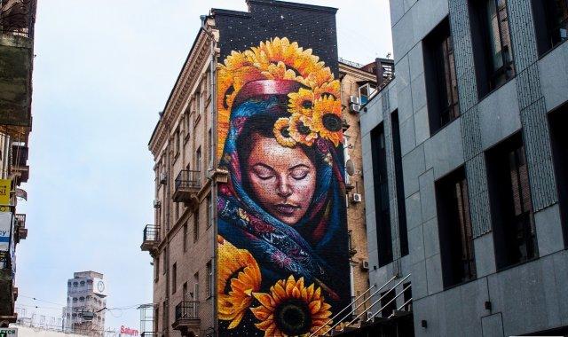 Стрит-арт на улицах городов