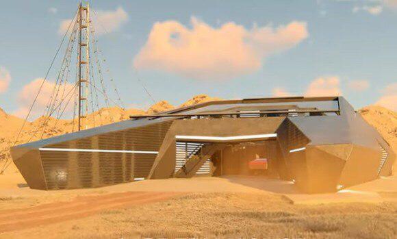 Петербуржцы спроектировали дом в стиле Cybertruck Илона Маска