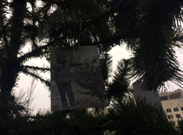 В Припяти под Новый год установили елку