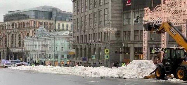 Посмотрите, что москвичи обнаружили в центре столицы