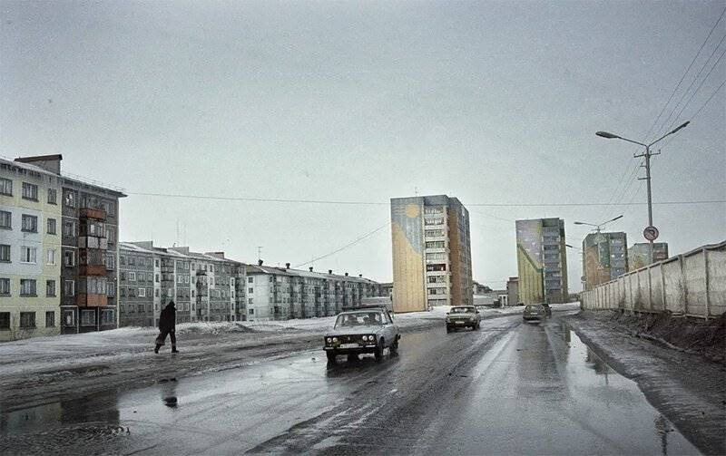 Russian City Beyond the Polar Circle Which Is Not Suitable For Life Anymore