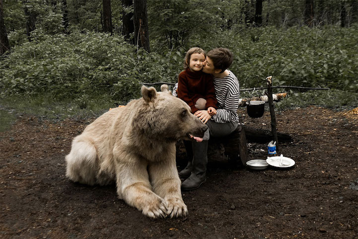 Stepan - the Bear Friend of the Russian Family