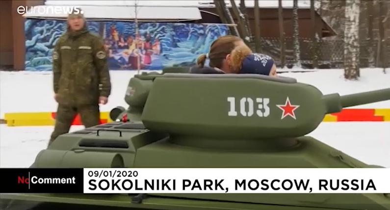 Mini T-34 Tank