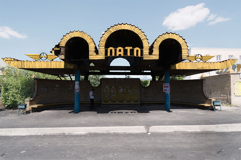 Special Charm of Soviet Bus Stops Shown By Canadian Photographer
