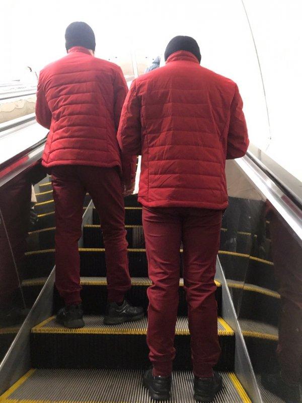 Russian Subway Craziness