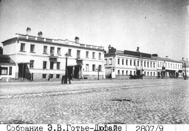 Москва в начале прошлого века