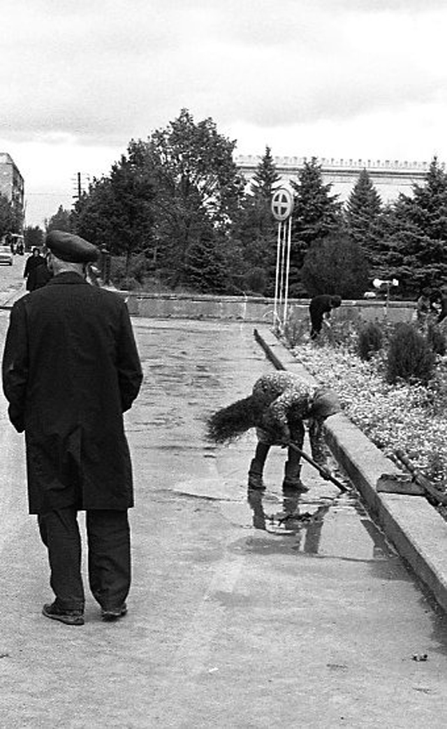 Daily Life of Georgia In 1976 Photographer by the Swedish Photographer