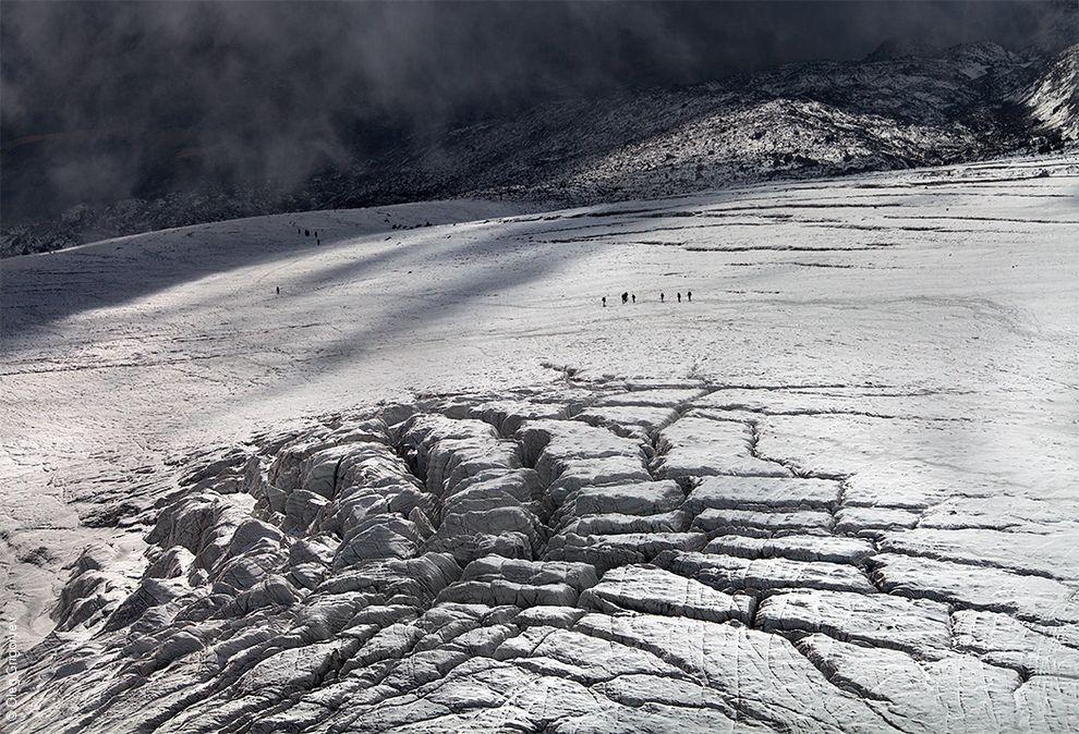 Georgia: Climbing Kazbek Mountain