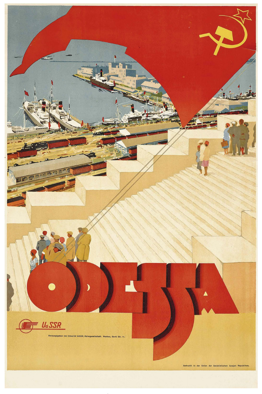 "Posters For ""Intourist"", the First Soviet Government Corporation"
