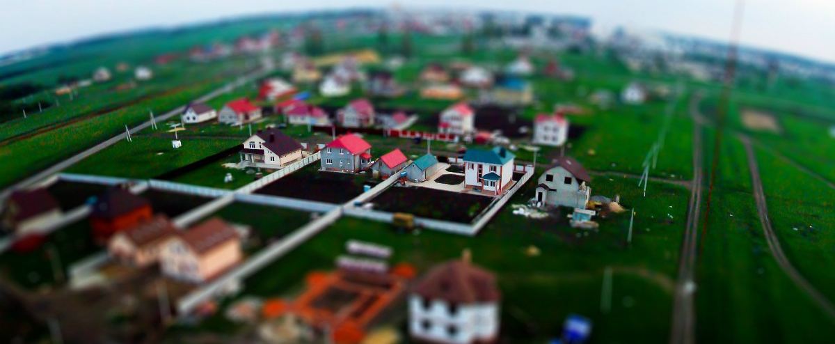 Toy Russian Cities: Tolt Shift Urban Landscapes