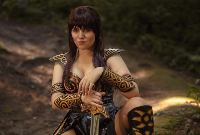 Russian Xena, the Warrior Princess