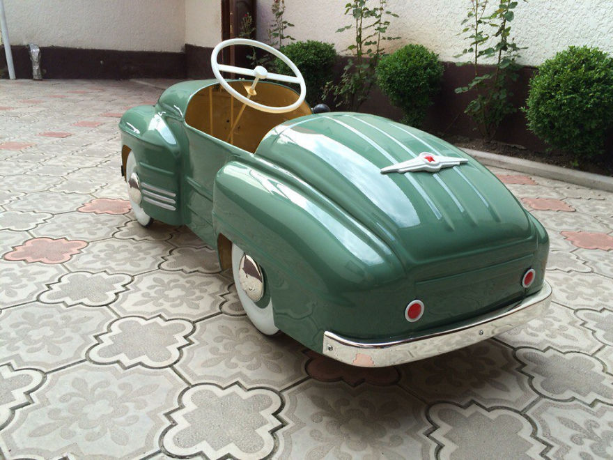 Pedal Cars Brought Back to Life