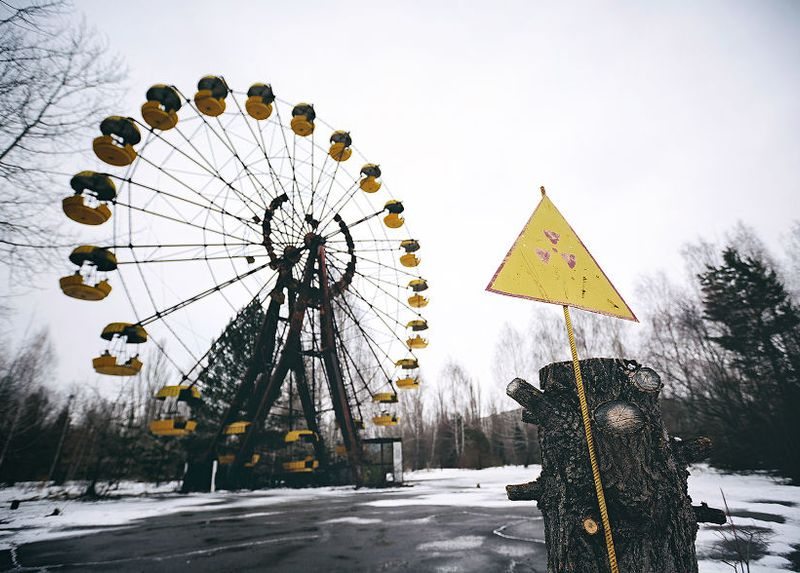 Gloomy Pripyat Shown By Romanian Photographer