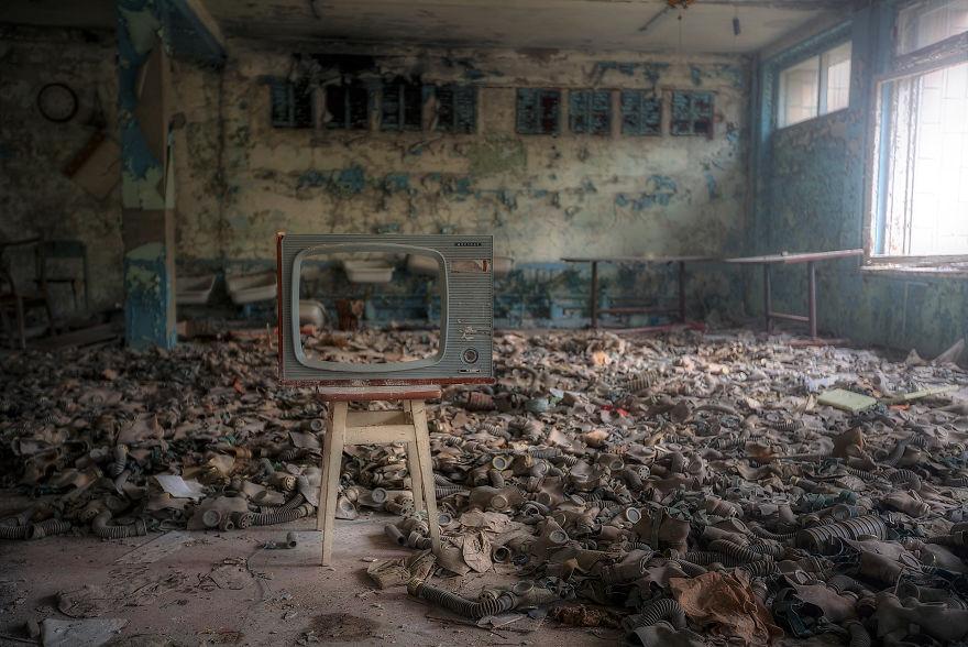 Gloomy Pripyat Shown By Romanian Photographer