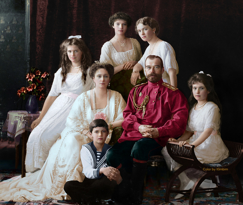 Colorized Photos of Prominent Russian People