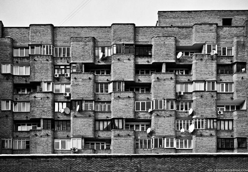 Futuristic Architecture of the Soviet Union